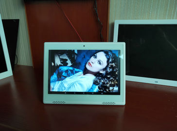 Desk / Table Top Type Touch Screen Digital Photo Frames 10 Inch Android 7.1